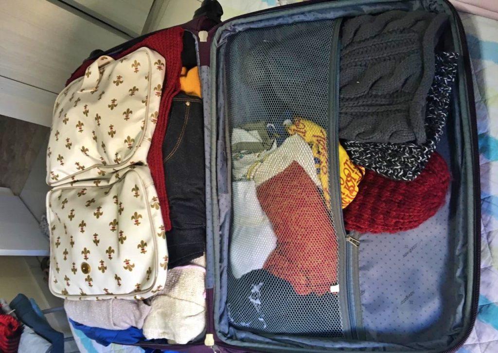 Organização da Mala de viagem
