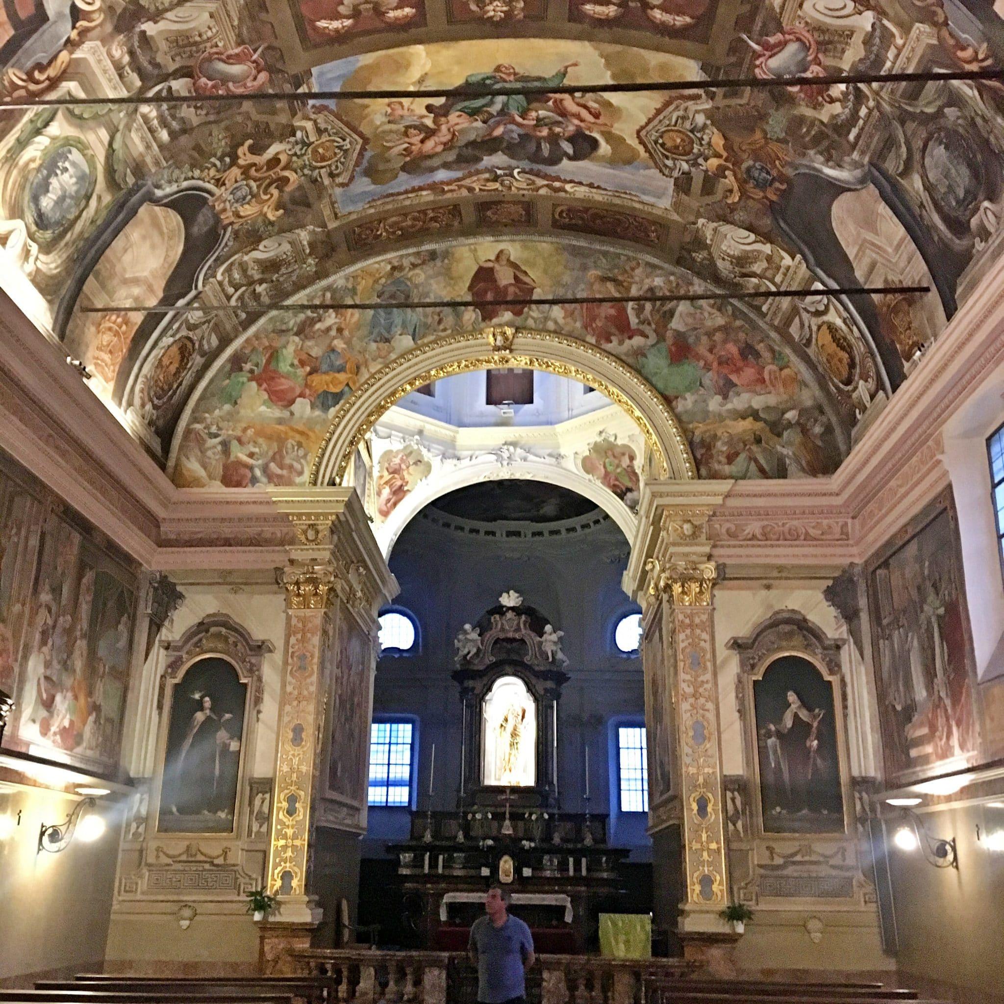 Interior da Chiesa di San Rocco