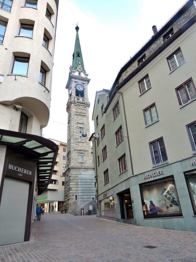 Igreja de St. Moritz - Suíça