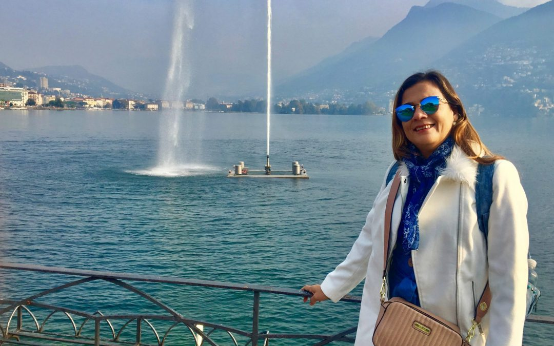 Lugano é um pedaço da Itália na Suíça