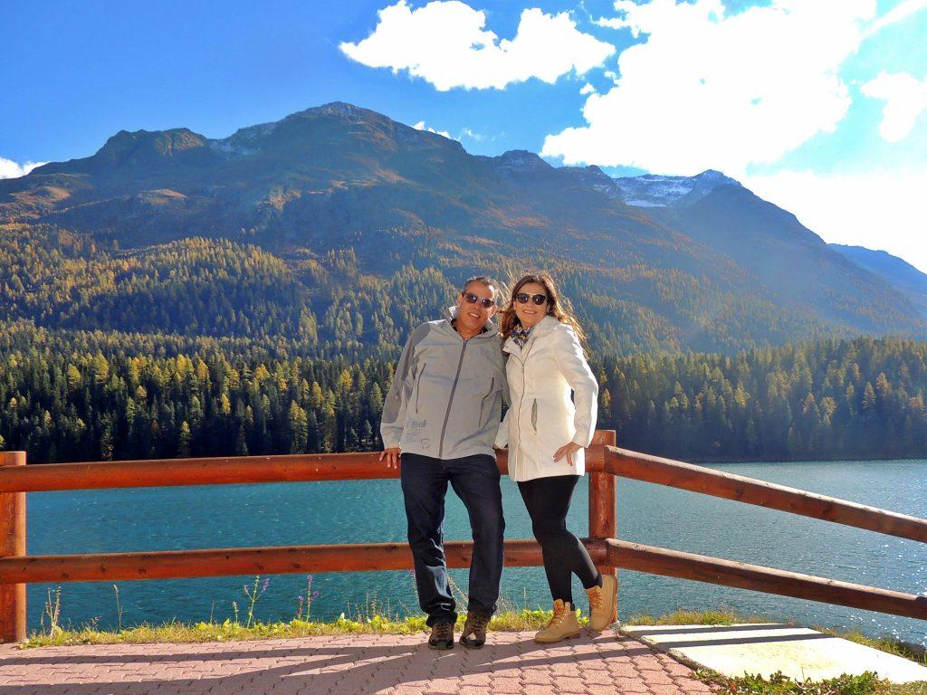 Lago de St. Moritz - Suíça