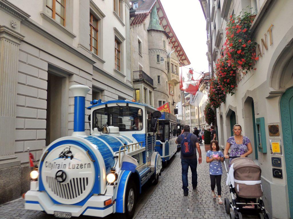 Centro Histórico de Lucerna - um lugar lindo e de uma arquitetura maravilhosa