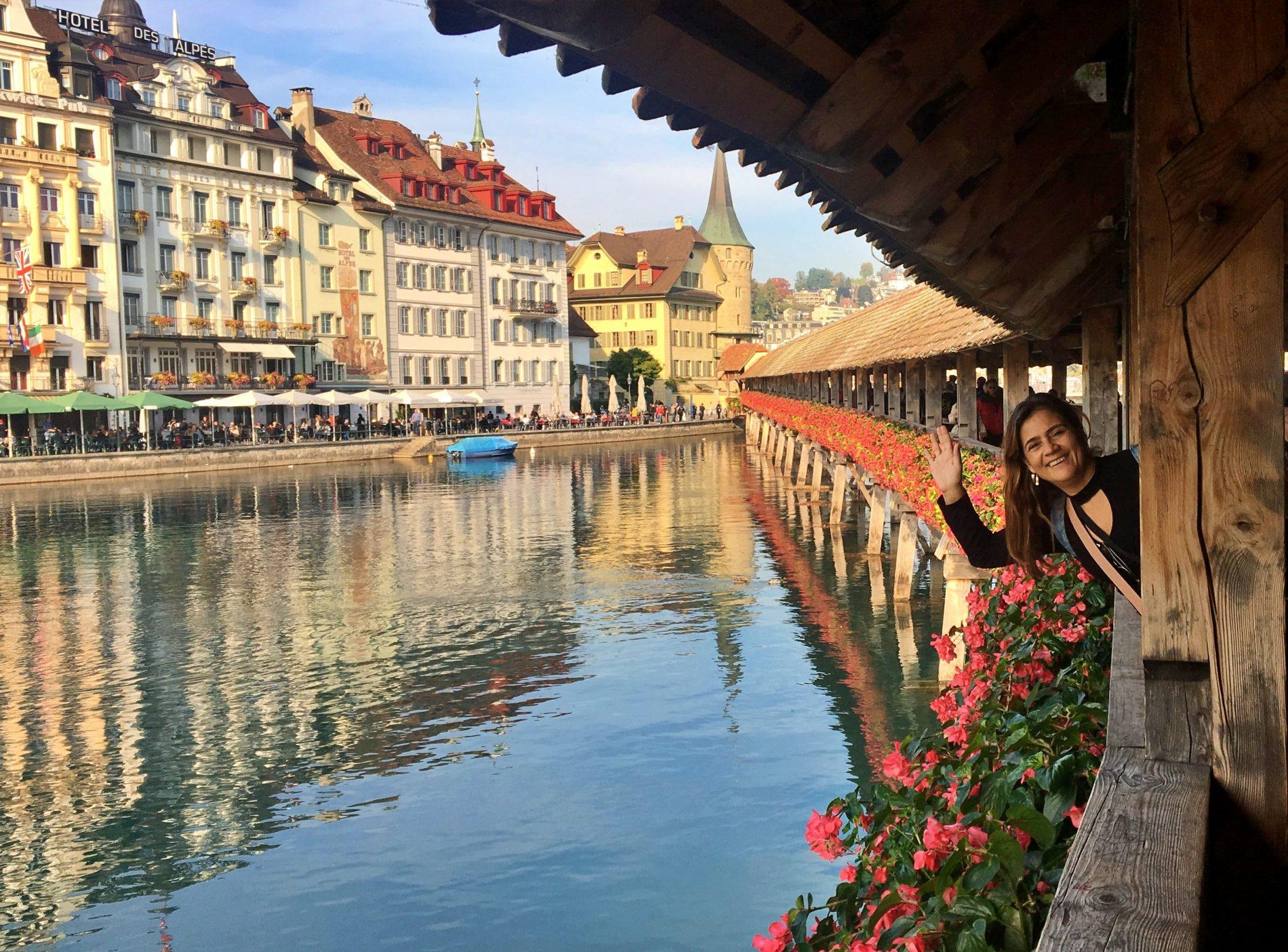 Lucerna, uma linda vila medieval na Suíça - Uma cidade encantadora, com suas pontes, fontes, lagos e arquitetura medieval