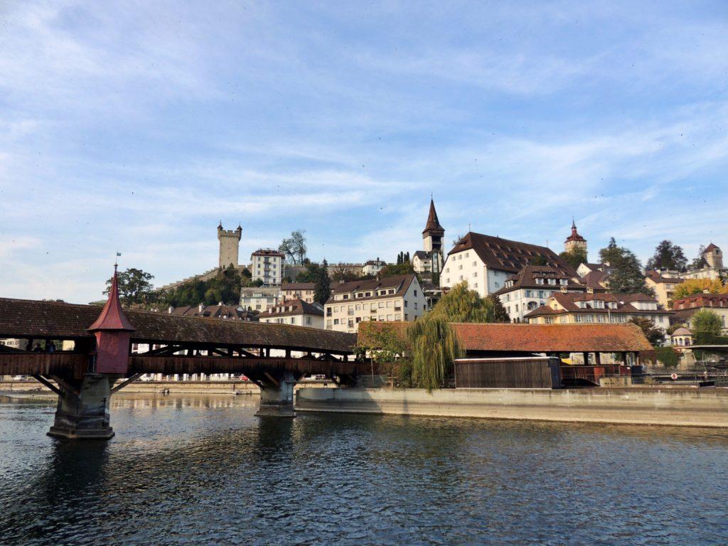 Spreuerbrücke - uma das pontes de madeiras mais antigas do mundo