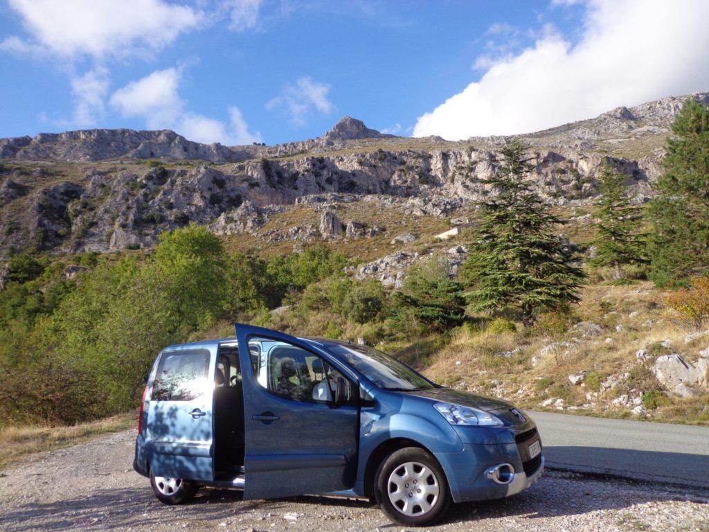 Viagem de carro pelo Sul da França