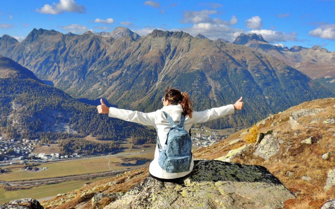 Muottas Muragl: Uma romântica montanha Em St. Moritz