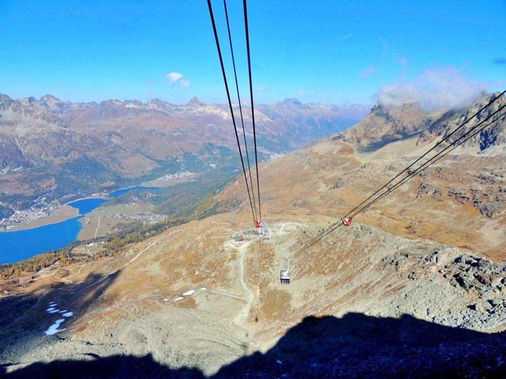 Teleférico de Corvatsch - St Moritz