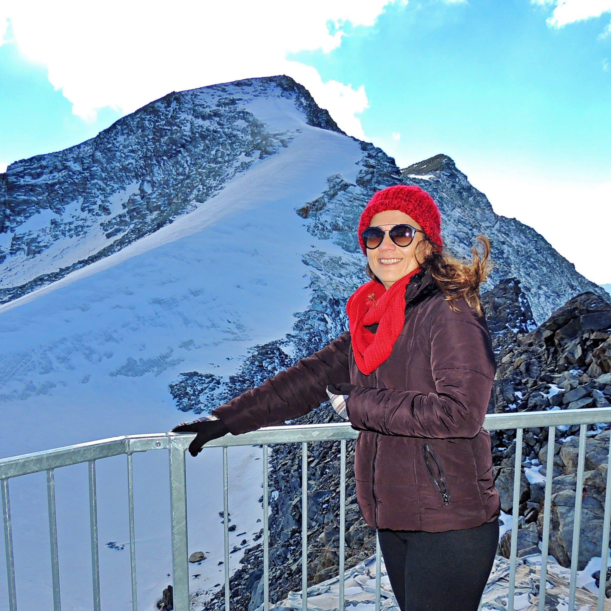 Montanha Corvatsch - St Moritz