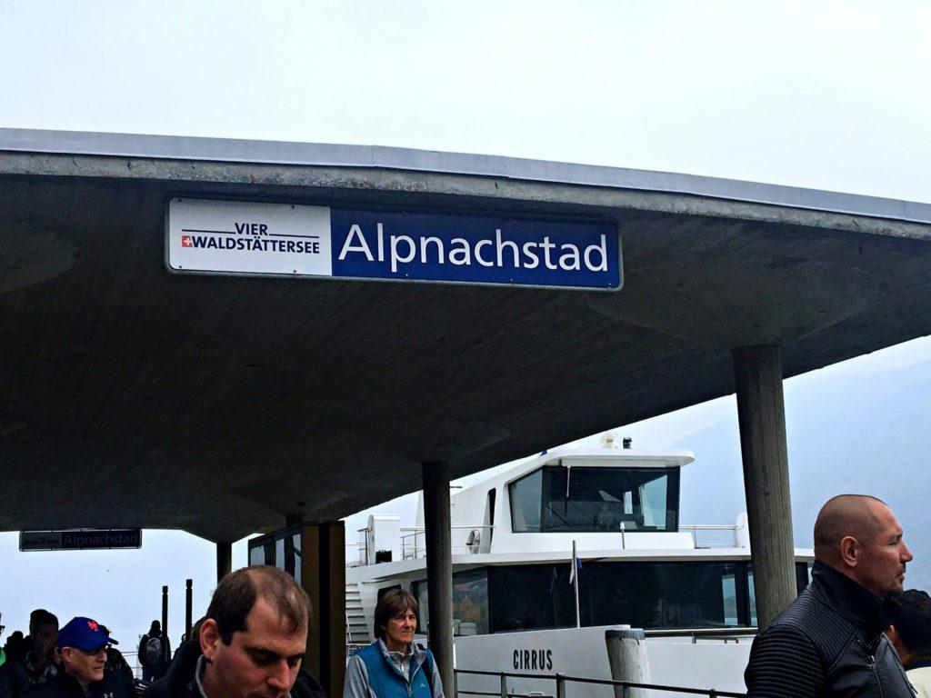 Barco em Alpnachstad