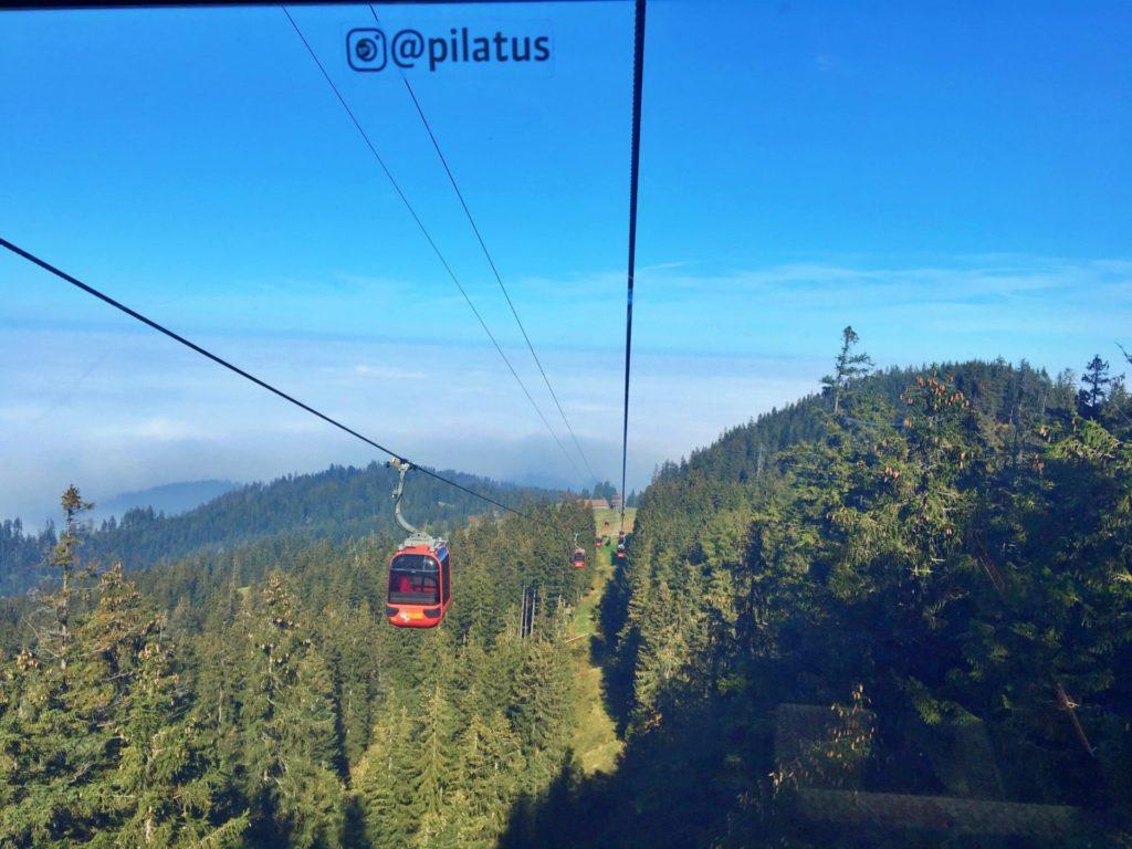 Dragon Ride - Acesso ao Monte Pilatus em Lucerna
