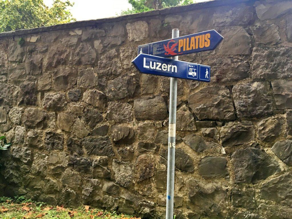 Monte Pilatus -De Kriens para Lucerna