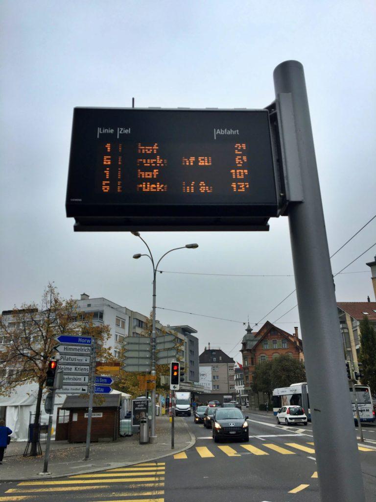 Monte Pilatus - De Kriens para Lucerna