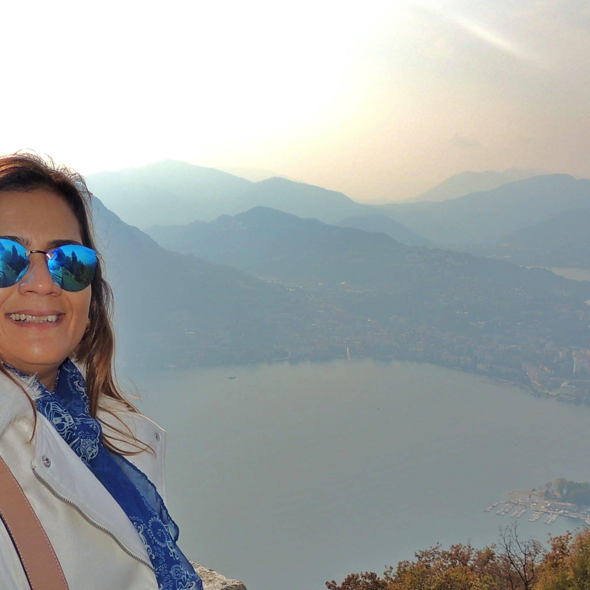 Vista Panorâmica do Monte Brè Lugano