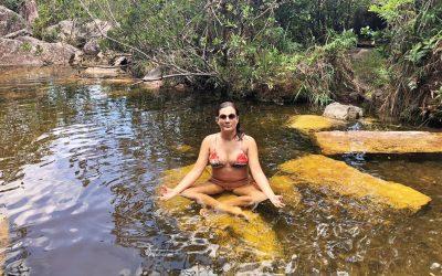 Cachoeira de Águas Claras no Vale do Capão