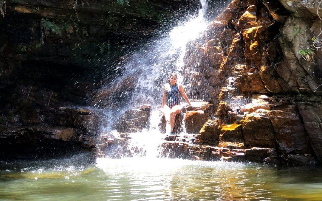 Cachoeira da Purificação e Poço Angélica no Vale do Capão