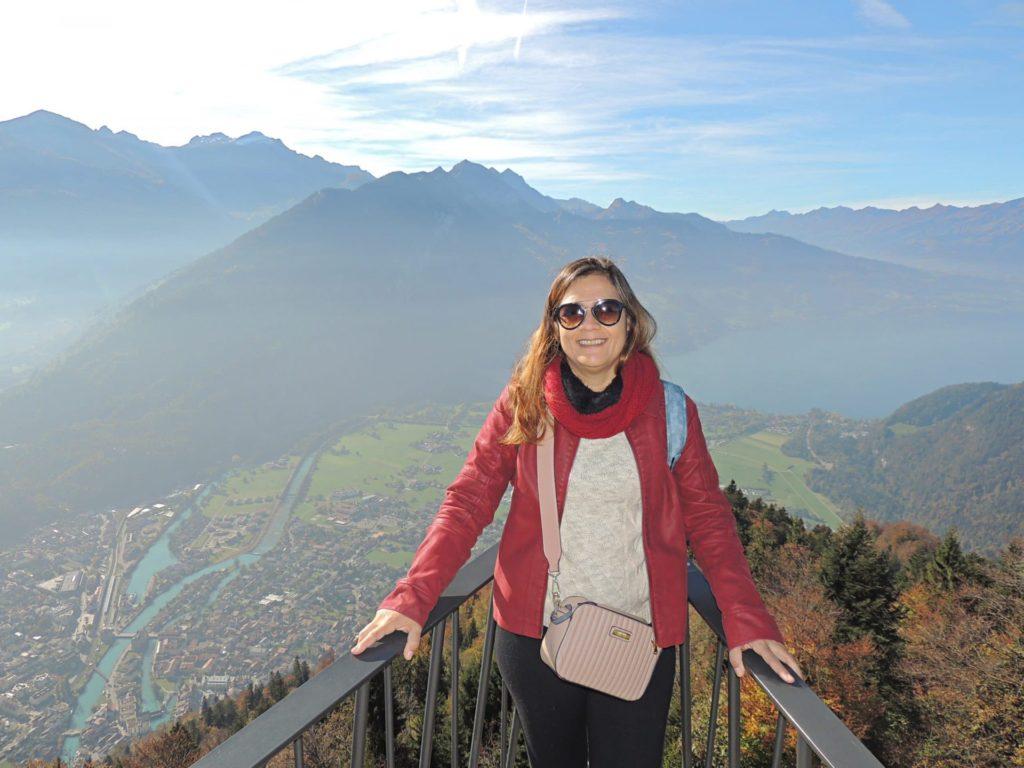 Vista do Harder Kulm - Interlaken