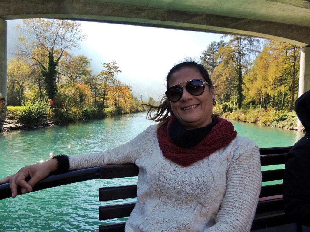 Passeio de barco em Interlaken