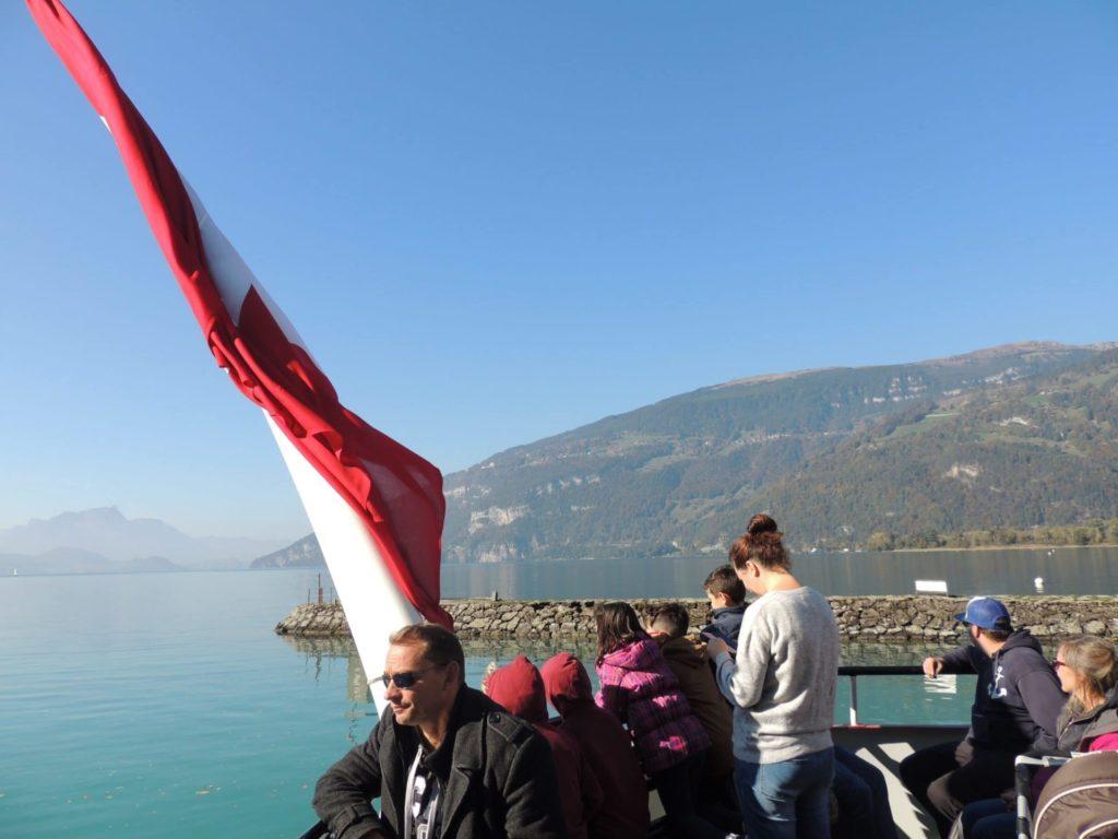 Passeio de barco pelo Lago Thun