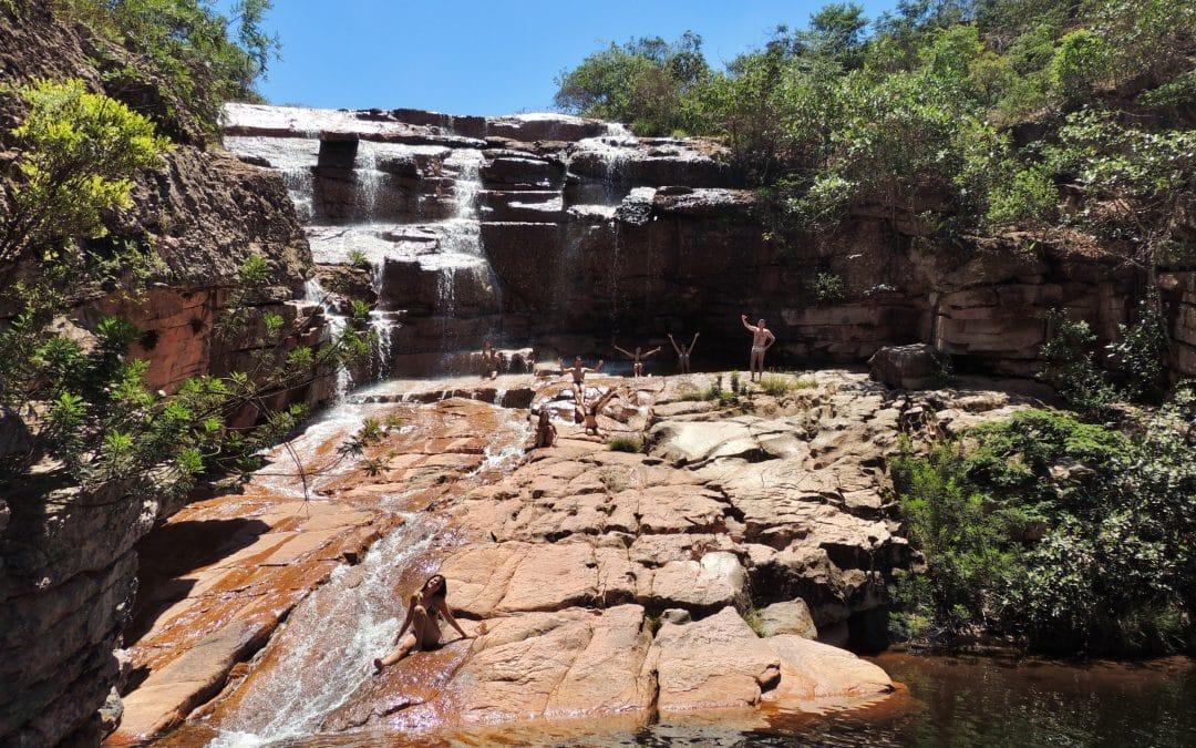 Cachoeira do Riachinho no Vale do Capão