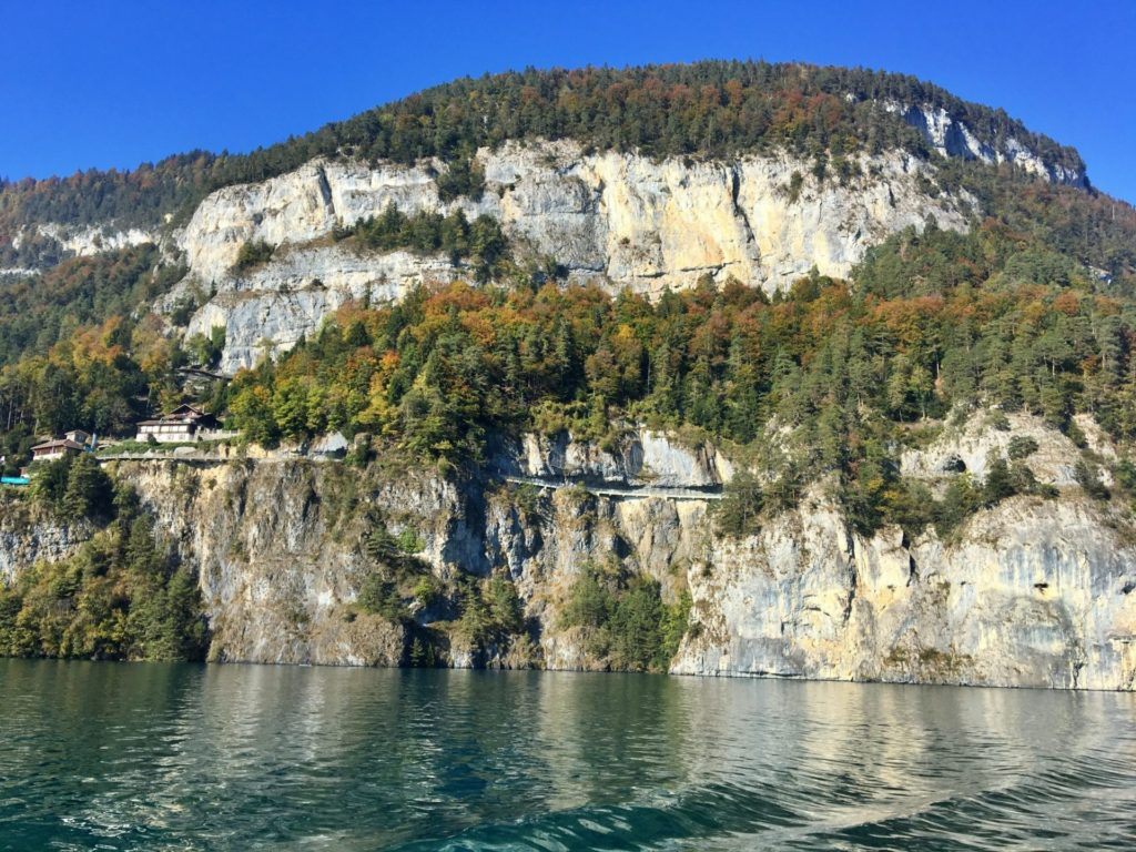 Passeio pelo Lago Thun