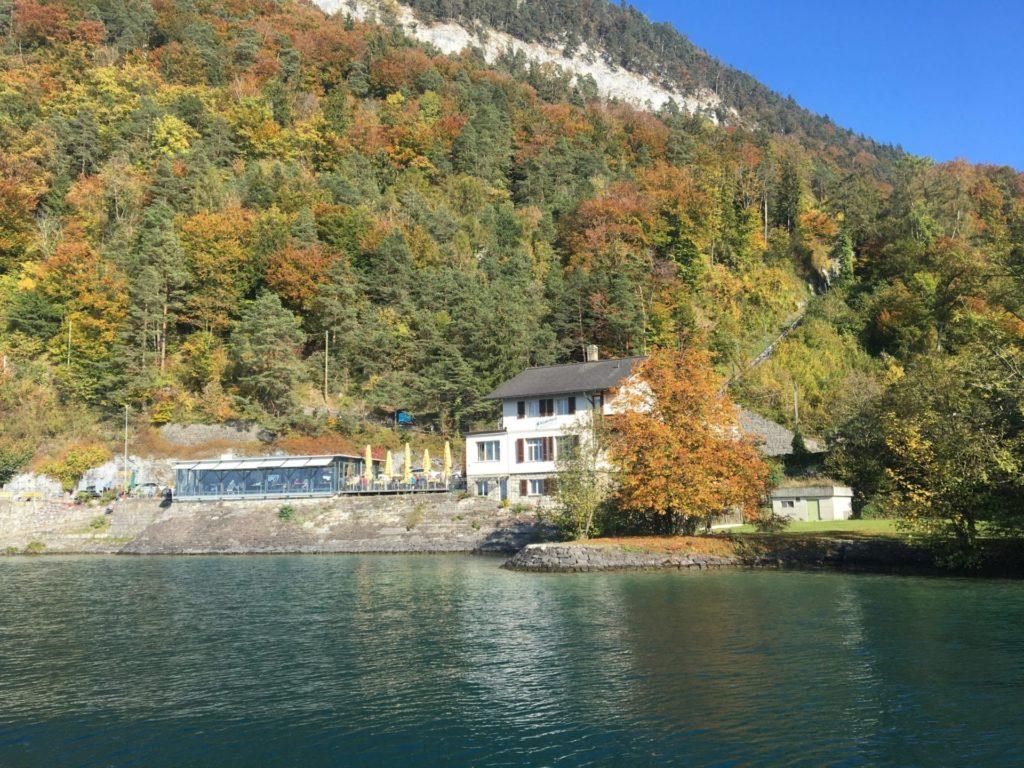 Passeio de barco Lago Thun