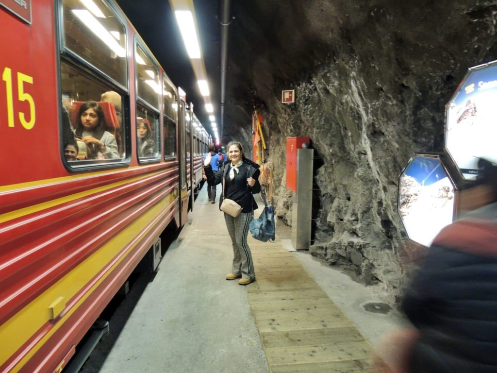 Trem para o Jungrau Top of Europe