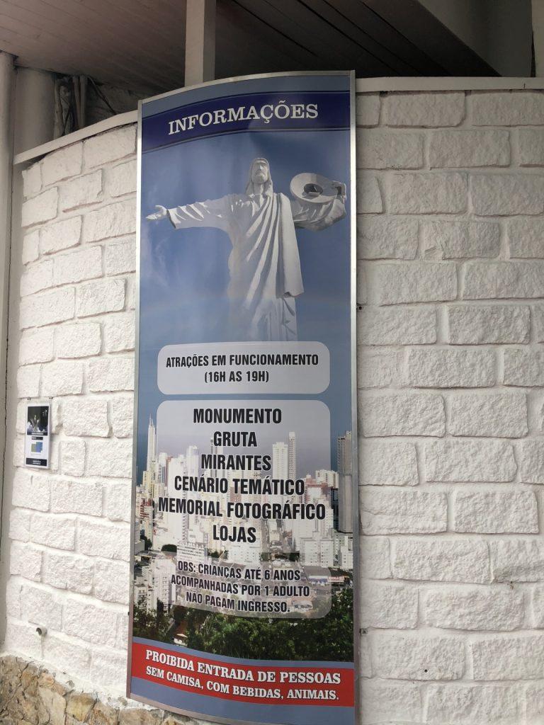 10 atrações imperdíveis em Balneário Camboriú - Cristo Luz
