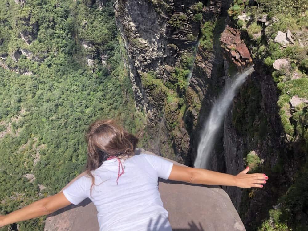 Cachoeira da Fumaça, a mais famosa do Vale do Capão