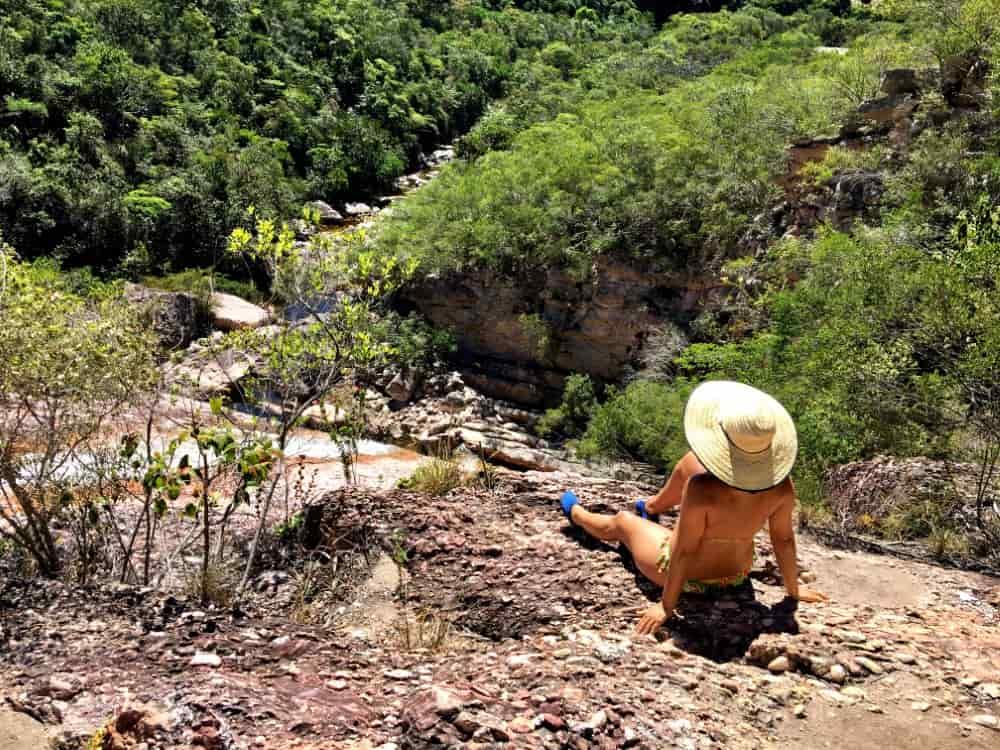 Cachoeira do Meio em Conceição dos Gatos, Vale do Capão