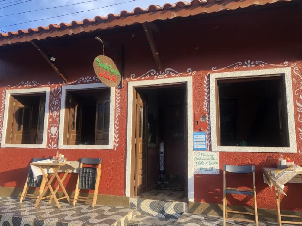 Vale do Capão, uma encantadora vila da Chapada Diamantina- Restaurante Dona Beli