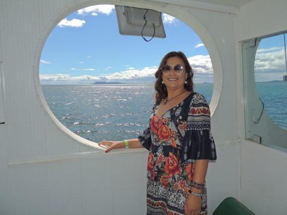 O passeio na Barca Vapor do Vinho é imperdível