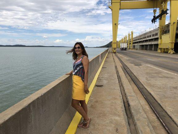 A Barragem e o Lago de Sobradinho ficam no município de Casa Nova na Bahia