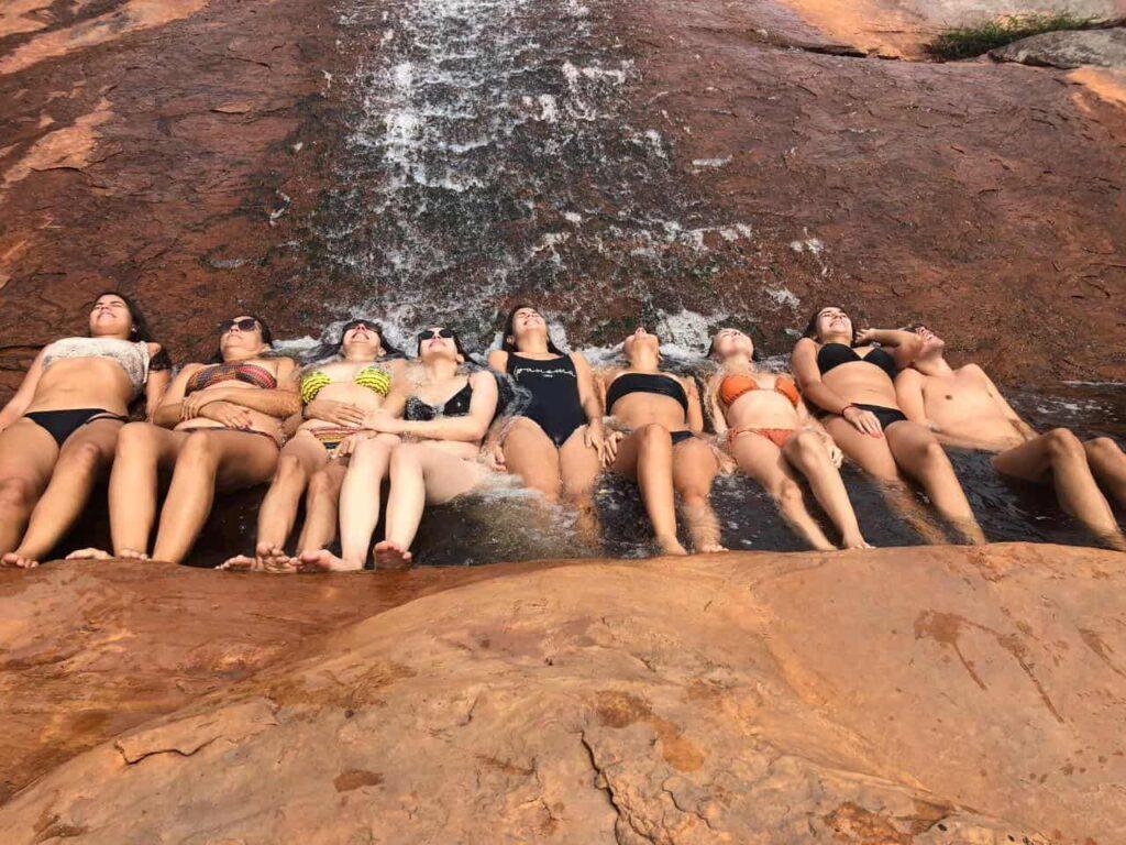 Vale do Capão - Cachoeira de Rodas: Diversão garantida