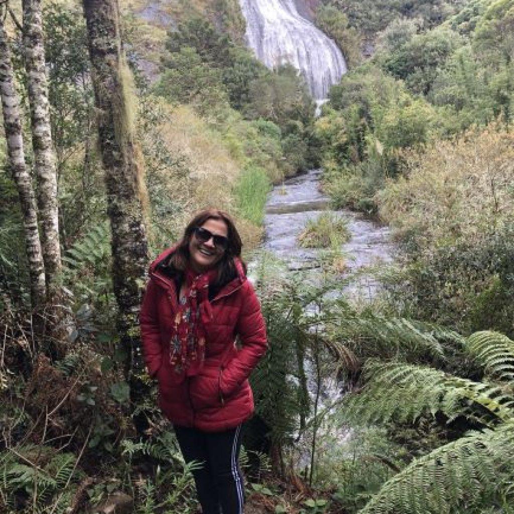 Serra Catarinense - Cachoeira Véu de Noiva em Urubici