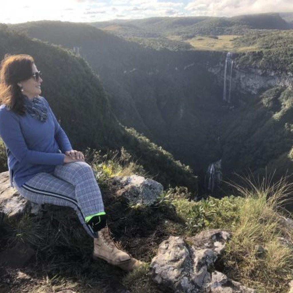 Cachoeiras Gêmeas dos Índios Colorados em Praia Grande - SC
