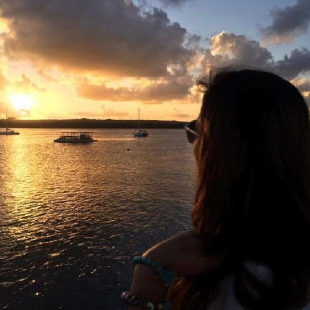 Atração especial de João Pessoa na Paraíba, por do sol na Praia do Jacaré