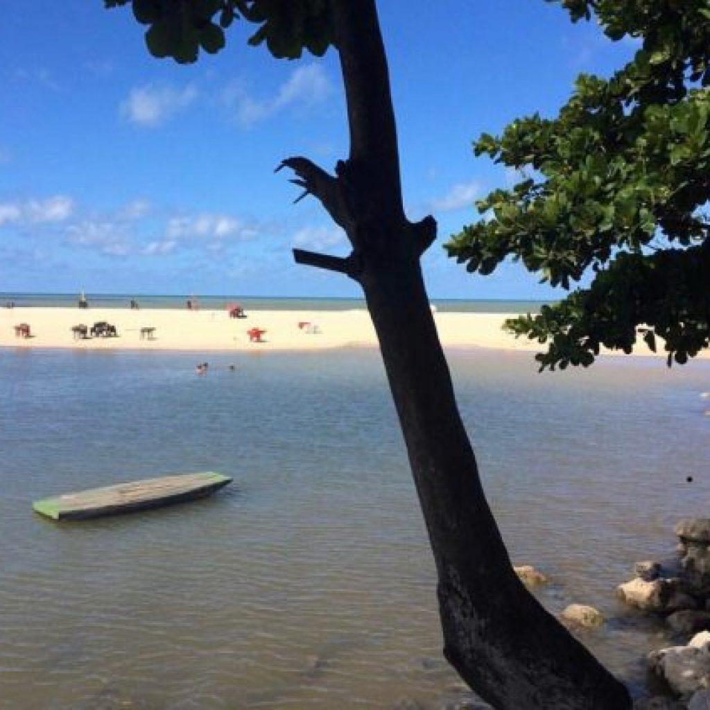 Atração especial de João Pessoa na Paraíba - Praia de Gramame