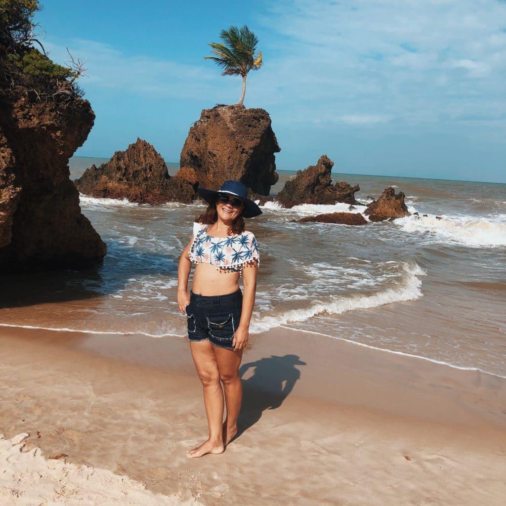 Tambaba - a primeira praia de naturismo do Brasil - Atrações de João Pessoa PB
