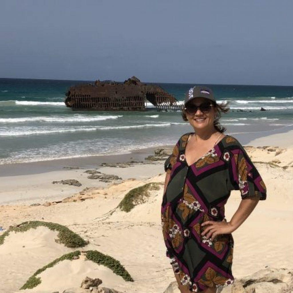 Atrações de Boa Vista no Arquipélago de Cabo Verde - Cabo de Santa Monica