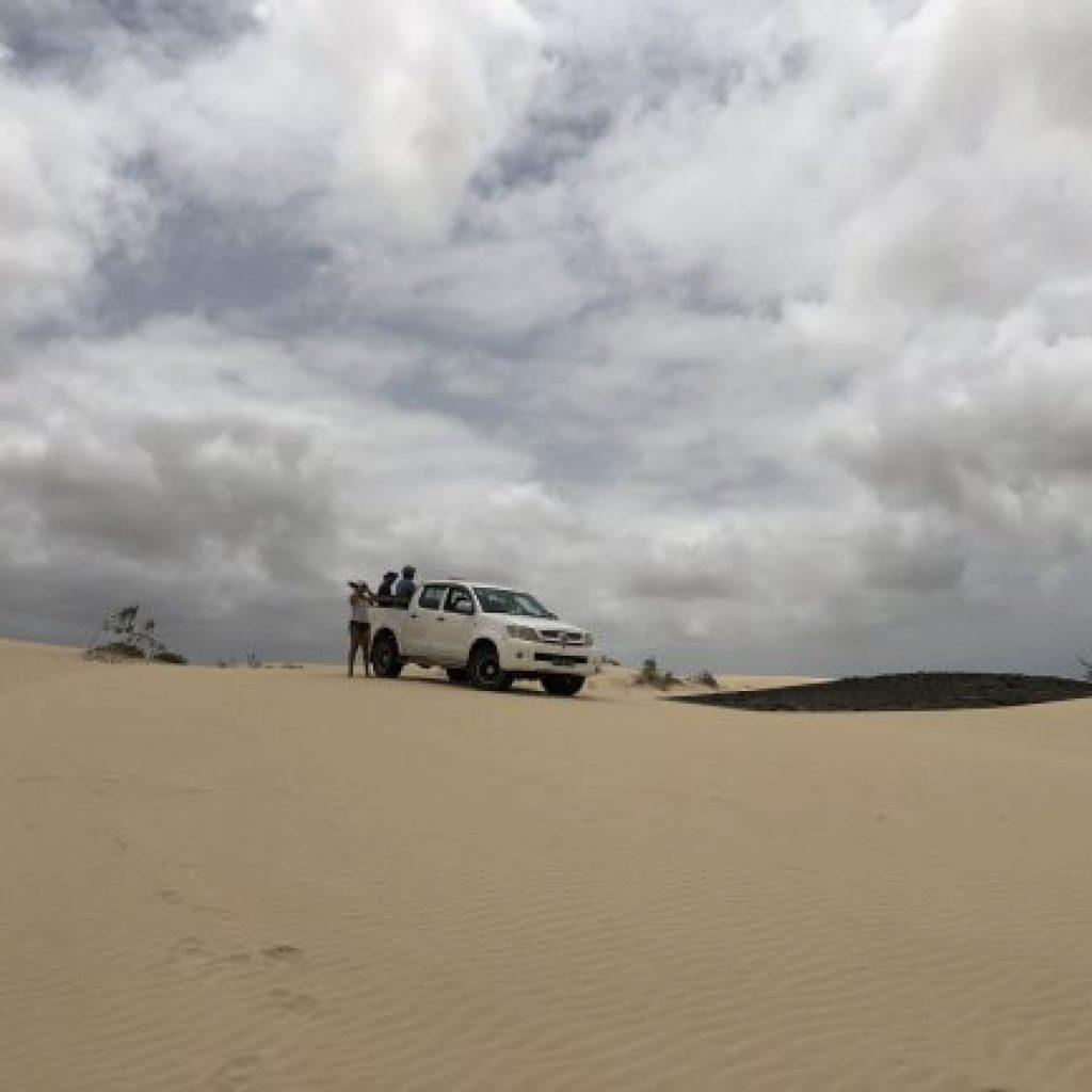 Atrações de Boa Vista no Arquipélago de Cabo Verde - Deserto de Viana