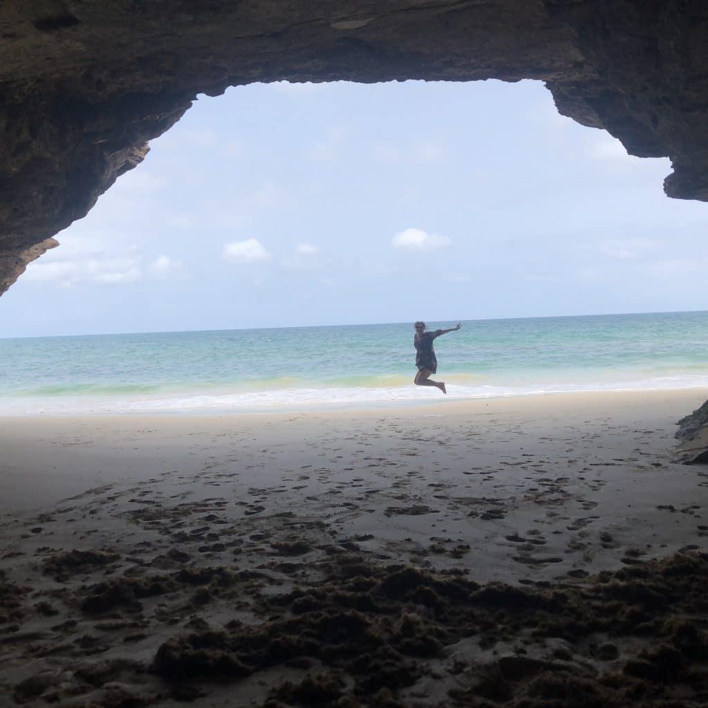 Atrações de Boa Vista no Arquipélago de Cabo Verde - Gruta de Bracona