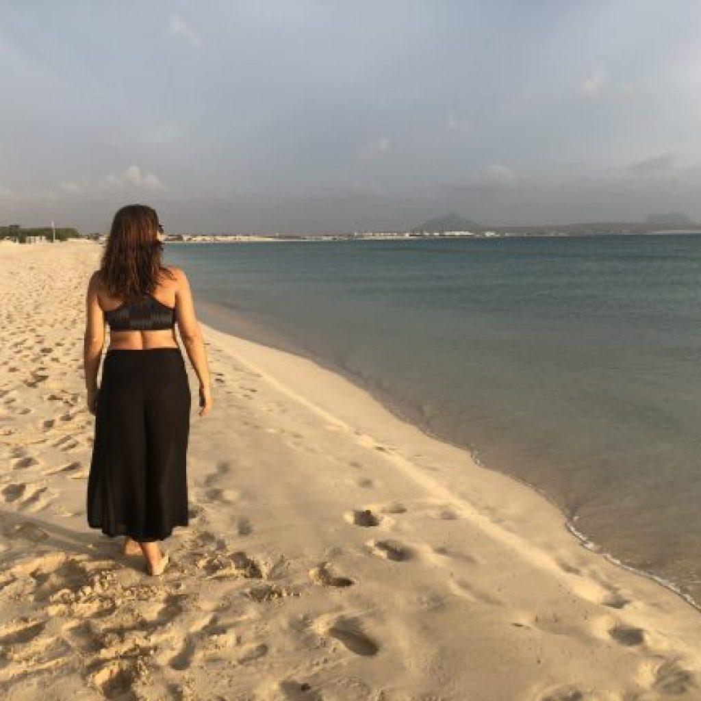 Atrações de Boa Vista no Arquipélago de Cabo Verde - Praia de Estoril