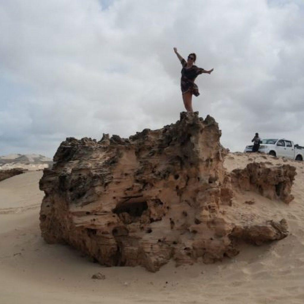 Atrações de Boa Vista no Arquipélago de Cabo Verde - Praia de Varandinha