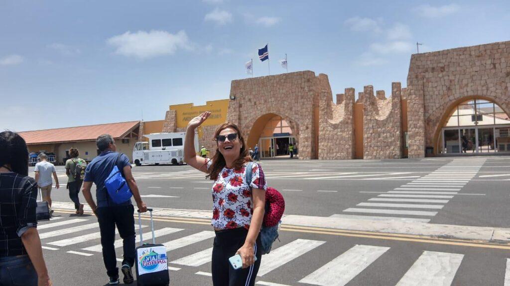 Rabil. em Boa Vista Cabo Verde - Aeroporto Internacional Aristides Pereira
