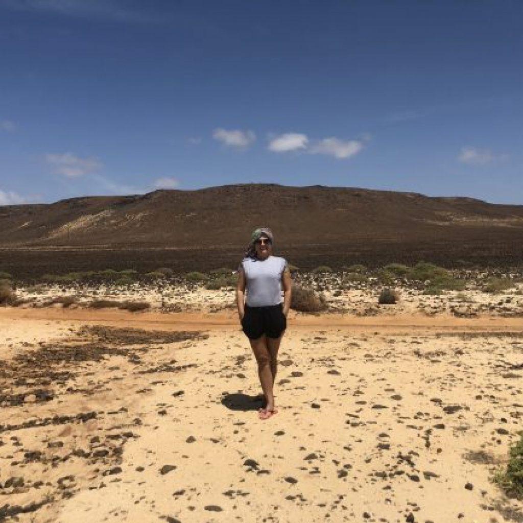 Atrações de Boa Vista no Arquipélago de Cabo Verde - Praia deErvatão