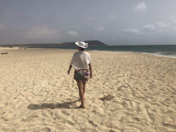 Atrações de Cabo Verde na Ilha do Sal - Praia Murdeira
