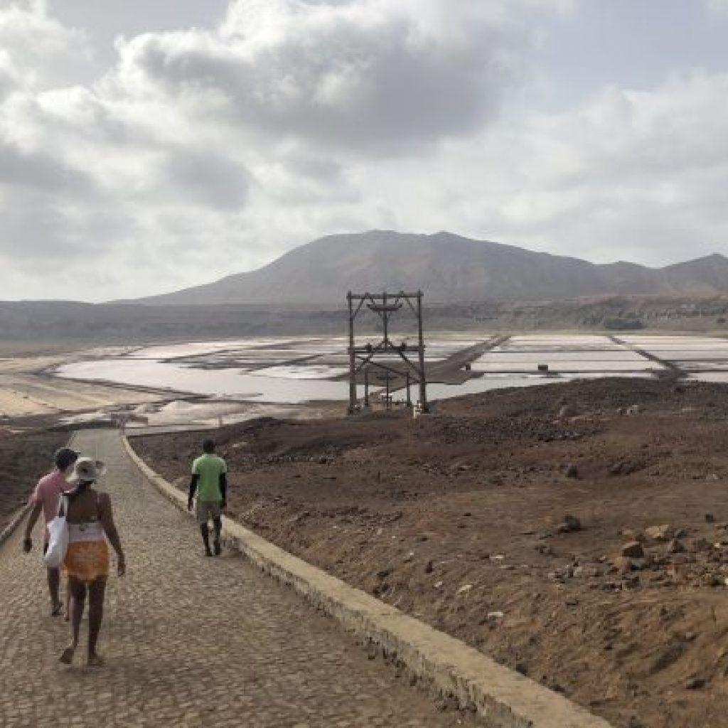 Ilha do Sal em Cabo Verde - Salinas Pedra Lume