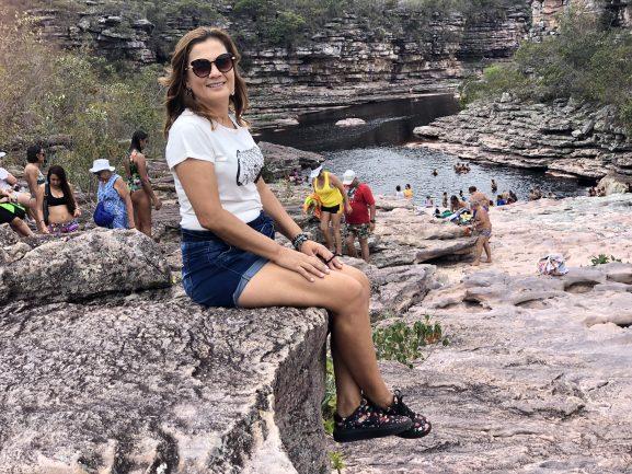 Projeto sempre viva - Cachoeira do Tiburtino