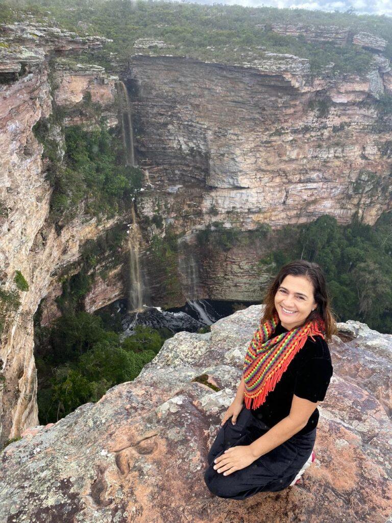 Cachoeira do Ferro Doido em época de chuva