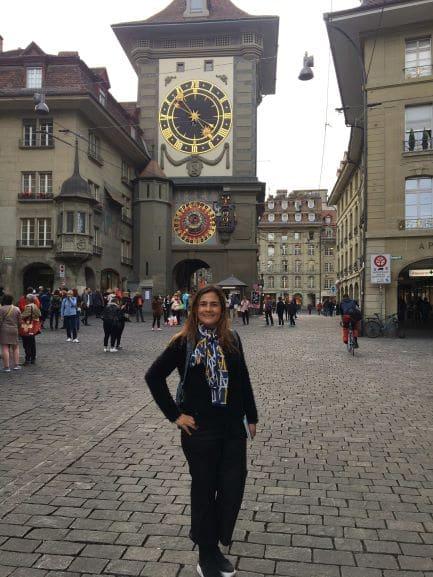Zytglogge - Torre do relógio no Centro Histórico de Berna